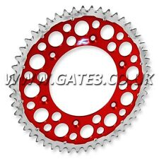 HONDA CRM250 CRM 250 AR 1996-1999 RENTHAL TWIN RING 49-TOOTH RED REAR SPROCKET
