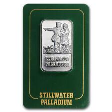 1 oz Palladium Johnson Matthey Lewis & Clark Bar - In Assay Card - SKU #24236