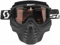 Scott  Mx Safari 83X Black Rose Lens Face Mask Motocross Dirt Bike Goggles