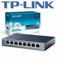 TP-Link tl-sg108e 8 puertos - 10/100/1000 rj45 Easy Smart managed conmutador Gigabit