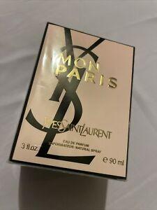 YSL Mon Paris Perfume YvesSaintLaurent 3oz / 90ml New Authentic