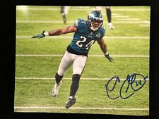 PHILADELPHIA EAGLES SUPER BOWL CHAMP COREY GRAHAM AUTOGRAPHED 8X10 PHOTO #4W/COA