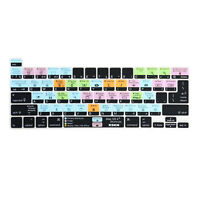 XSKN Mac OS X Shortcuts Keyboard Cover for A2251/A2289/A2338 New MacBook Pro 13