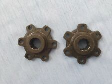 Jeep Willys Early MB/GPW front axle scalloped hub drive plate. NOS Original