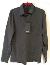 Lululemon Shirt Button Down Commission LS Shirt Long Sleeve Gray $108 XL NWT!