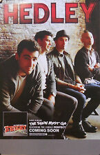 HEDLEY, THE SHOW MUST GO ON POSTER (H3)