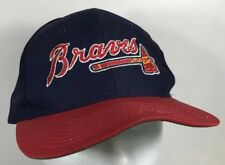 ATLANTA BRAVES SNAPBACK VINTAGE BASEBALL CAP HAT THE GAME MLB OLD