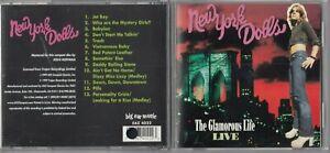 New York Dolls - The Glamorous Life Live (CD, Jul-1999, Grand Oreille Musique)
