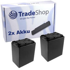 Batería 2x para Sony nex-vg20 nex-vg20e hxr-nx30 hxr-nx30e hxr-nx70 con chip info