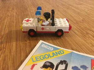 Lego City Town Set 6629 Ambulance (1981).