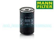 Mann Hummel repuesto de calidad OE Filtro de aceite del motor W 719/14
