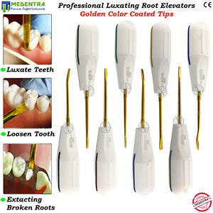 MEDENTRA® DENTAL TOOTH LUXATION ROOT ELEVATORS ORAL SURGERY EXTRACTION SET NEW