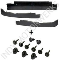 C6 CORVETTE FRONT SPOILER 3 PIECE COMPLETE KIT WITH MOUNTING HARDWARE NEW