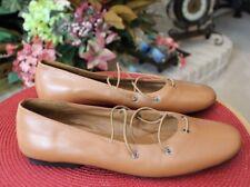 White Mountain Women's Tan Slip On Flats Size 8.5 M