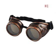 anteojos de la soldadura Cosplay Steampunk punk gafas de soldador gafas