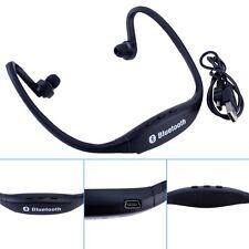 Universal Wireless Bluetooth Headphone Neckband Sport Stereo Headset Black Bф
