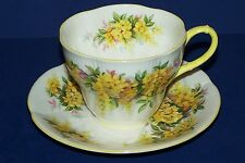 Lovely ROYAL ALBERT Blossom Time Series LABURNUM Cup & Saucer