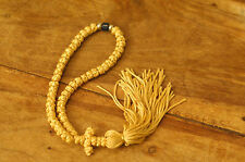 50 Knot Prayer Rope Chotki Greek Russian Christian Orthodox YELLOW Mount Athos