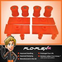 Ford Capri MK1, MK2 & MK3 Rear Bushes Kit in Poly Polyurethane Flo-Flex