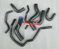 Silicone radiator heater hose fit for VW GOLF GTI MK5 2.0 FSI Turbo 03-09 BLACK
