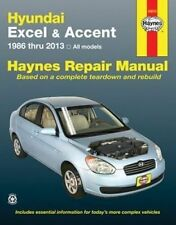 Hyundai Excel & Accent Automotive Repair Manual. 1986 to 2013 by Haynes Publishi