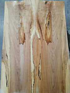 Curly Spalted Maple Burl Guitar Top Ambrosia Bookmatch Top Luthier Supply