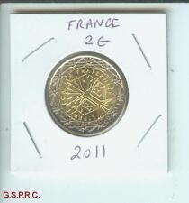 2011 2€  2 € FRANCE 2 Euro Bimetallic Coin !!  BEAUTIFUL UNCIRCULATED High Grade