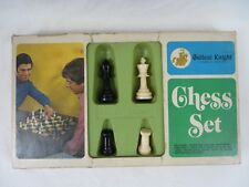 Vintage Gallant Knight Chess Set Arrco Playing Card Company Complete #6729