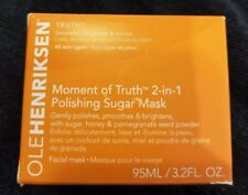 Ole Henriksen Moment of truth 2in1 Sugar mask