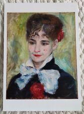 AUGUSTE RENOIR POSTCARD -  PORTRAIT OF A ROMANIAN LADY, 1877 - NEW