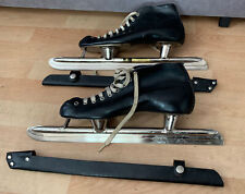 New listing Vintage Ving Leather Speed Skates Ice Racer Made in Norway size 43