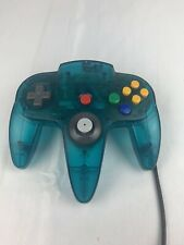 N64:  ICE BLUE CONTROLLER  Nintendo 64 ~~ Authentic Brand   ( TIGHT STICK )