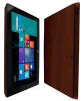 Skinomi Skin Dark Wood Skin+Clear Screen Protector for Microsoft Surface Pro 2