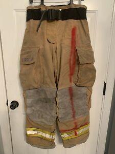 Men's Firefighter Turnout Bunker Pants Globe 34 x 30 GXTREME 2005 Trouser
