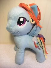"My Little Pony Plush Talking Rainbow Dash Stuffed 12"" Toy Hasbro 2013"