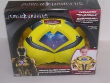 A4-05 / Power Rangers Kids Deluxe Dress Up Yellow Ranger   Play Costume  3+