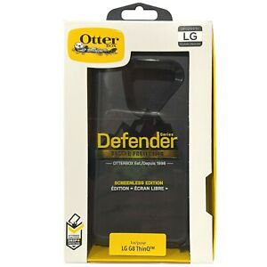 OtterBox Defender Series Case and Holster for LG G8 ThinQ - Black