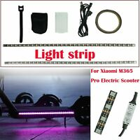 Pour Xiaomi M365/ M365 Pro Electric Scooter Light Strip Lamp Band Chassis Light