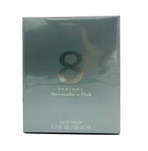 NIB Abercrombie & Fitch 8 Eight Perfume Women EDP 1.7 oz 50ml  Sealed Authentic