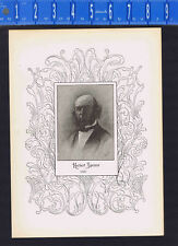 Herbert Spencer, English Philosopher, Biologist - 1895 Portrait Print