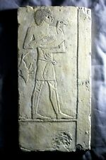 Vintage Metropolitan Museum of Art MMA Light Green Egyptian Shabti Signed MMA Made in Philippines Ancient Egyptian Statue