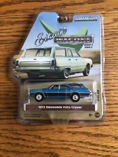 1972 Oldsmobile Vista Cruiser Greenlight Collectibles Estate Wagon Edition BLUE