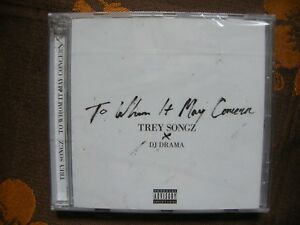 CD TREY SONGZ & DJ DRAMA - To Whom It May Concern (2015)  NEUF SOUS BLISTER