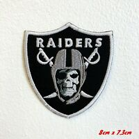 Raiders Skull Army Iron Sew on Embroidered Patch #134 Skull