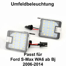 2x TOP LED SMD Umfeldbeleuchtung 6000K Weiß Ford S-Max WA6 (7908)