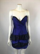 MANNING CARTELL size 10 100% silk gorgeous dress
