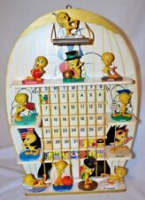 Complete Set Tweety Bird Calendar Goebel Figurines by Danbury Mint