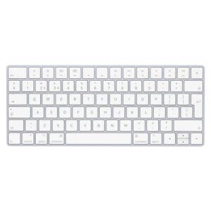 Apple Wireless Magic Keyboard Bluetooth - UK QWERTY Keyboard - White/Silver