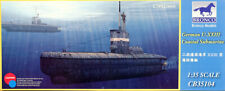 German U-XXIII Coastal Submarine U-Boot Typ XXIII 1:35 Model Kit Bronco CB35104