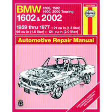 BMW Haynes Manual 1959-77 1500 1502 1600 1602 2000 2002 1.5 1.6 2.0 Petrol
